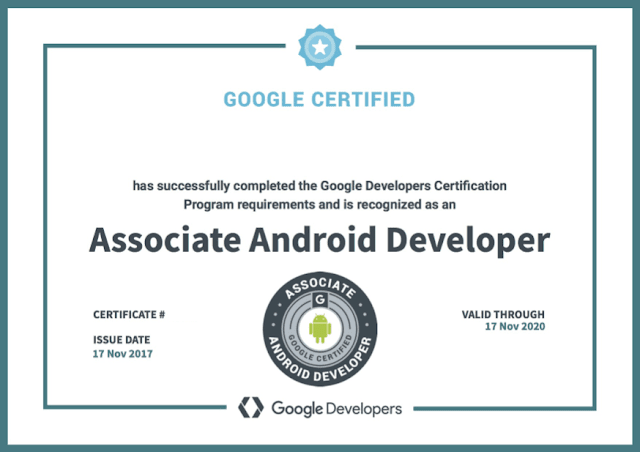 شهادة-Developing-Android-Apps