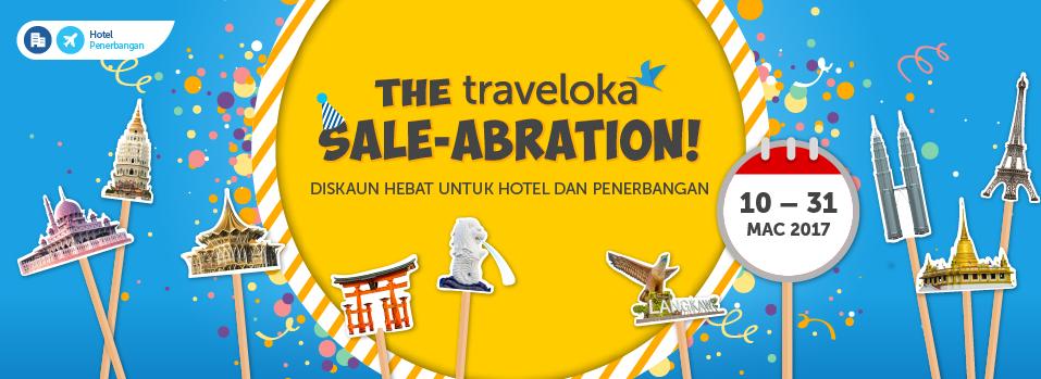 Traveloka Sale Abration Diskaun Hebat Untuk Hotel Dan