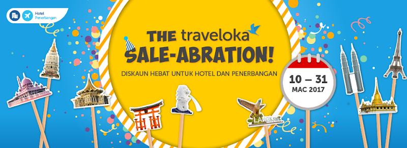 TRAVELOKA SALE-ABRATION: Diskaun Hebat Untuk Hotel Dan Penerbangan!