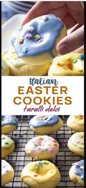 Italian Easter Cookies (Taralli Dolci)
