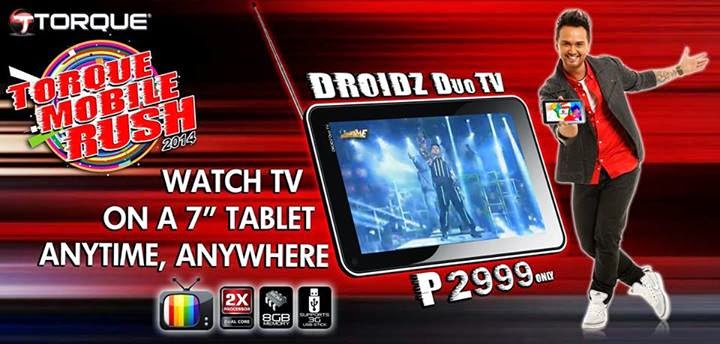 Torque DROIDZ Duo TV: Specs, Price and Availability