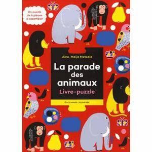 La Parade des Animaux - Editions GALLIMARD JEUNESSE