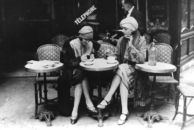 Image result for vintage coffee ladies