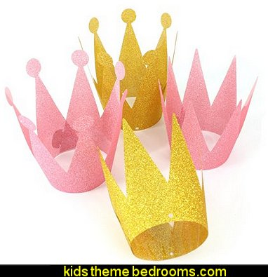 Party Crowns Birthday Party Hats for princess  arty Decorations Supplies