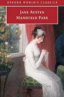 Mansfield Park by Jane Austen book cover