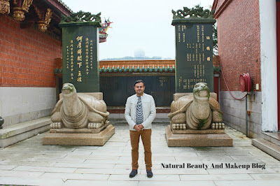 Destination - MACAU, Day 2, Tin Hau Temple, AMA Statue and Cultural Village, Coloane on Natural Beauty And Makeup Blog