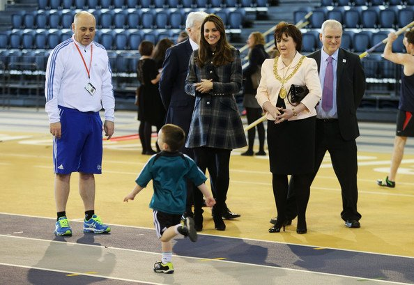 Prince William and Kate Middleton visited the Emirates Arena. The arena will play host to several events at the 2014 Commonwealth Games