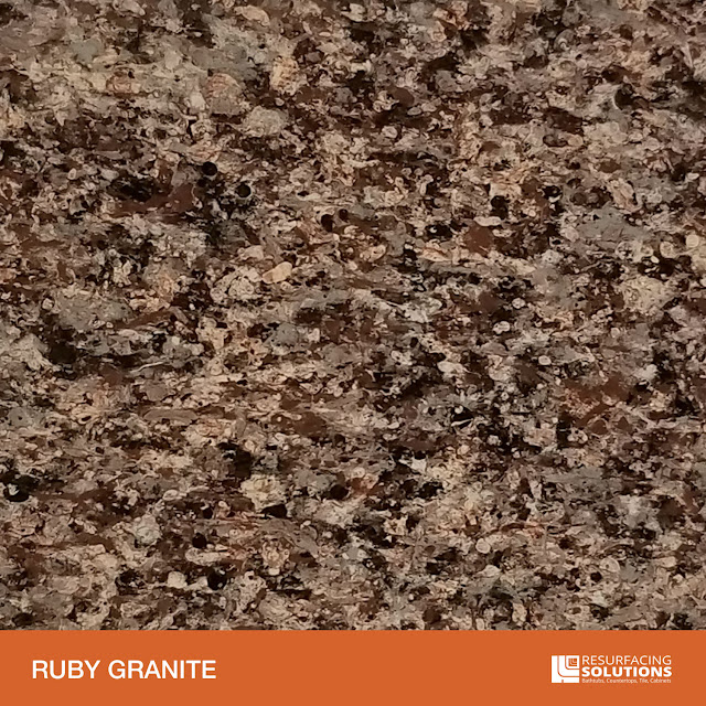 Resurfacing Solutions Knoxville Faux Granite Countertop Color Sample 49