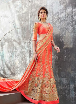 orange-net-fabric-indian-bridal-lehenga-choli