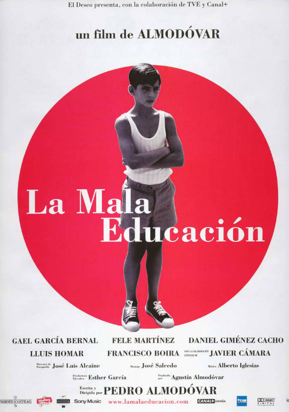 Bad Education (La Mala Educación),Pedro Almodovar