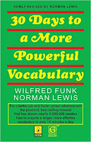 30 days for vocabulary: best books for bank exam