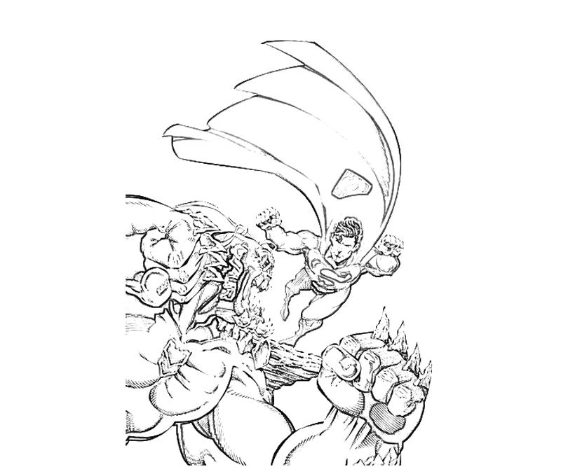 doomsday coloring pages | DC Universe Doomsday Ability | Yumiko Fujiwara