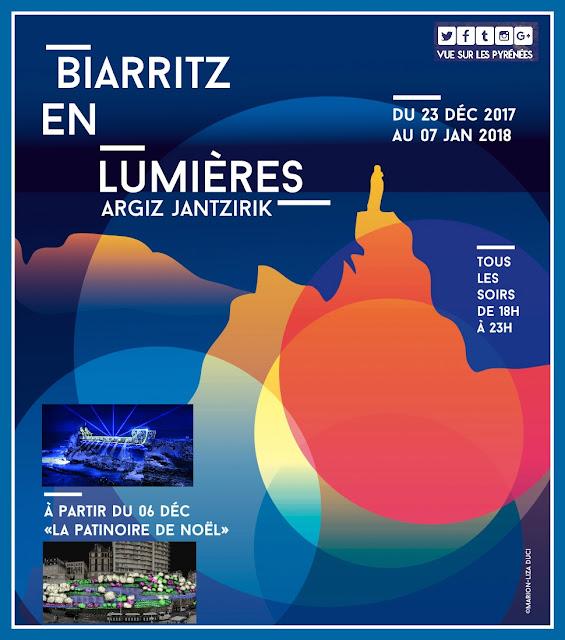 Biarritz en lumières : la magie de Biarritz 2017 Pays Basque