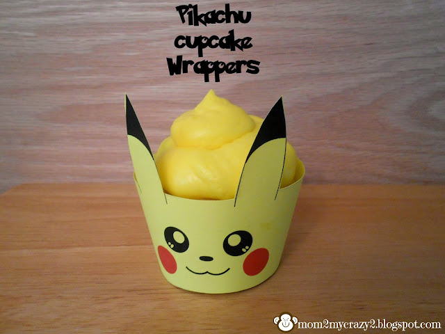 For Pokemon Pikachu Cupcake Wrers Now I Waited A Little Late These Uh Hum The Night Before Thankfully Even When Ed Like 9pm