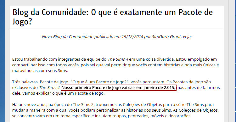 Working in the gaming industry: Tudo sobre o primeiro Pacote