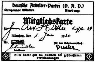 Carnet Hitler DAP