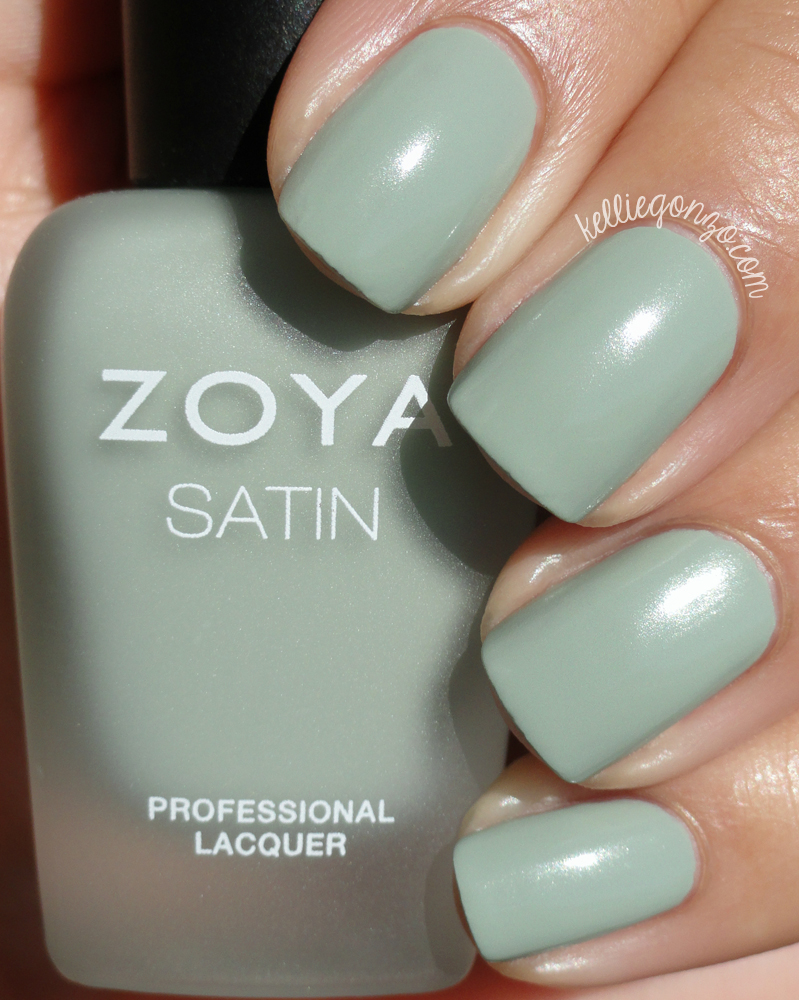 Zoya Sage Naturel Satins
