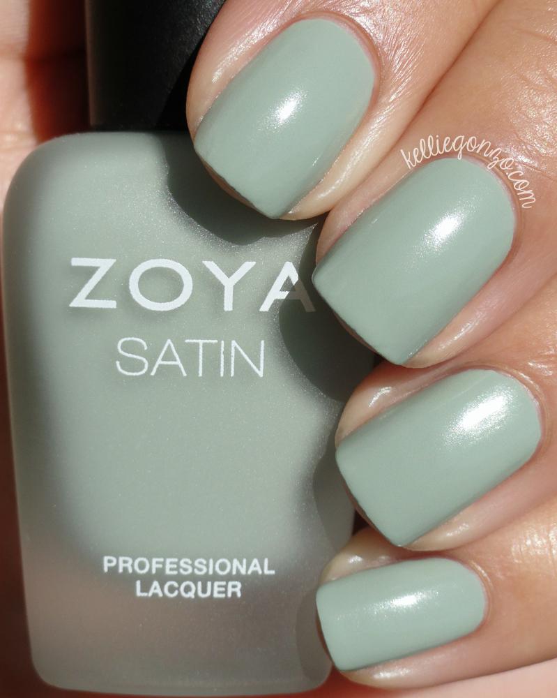 Zoya Sage Naturel Satins