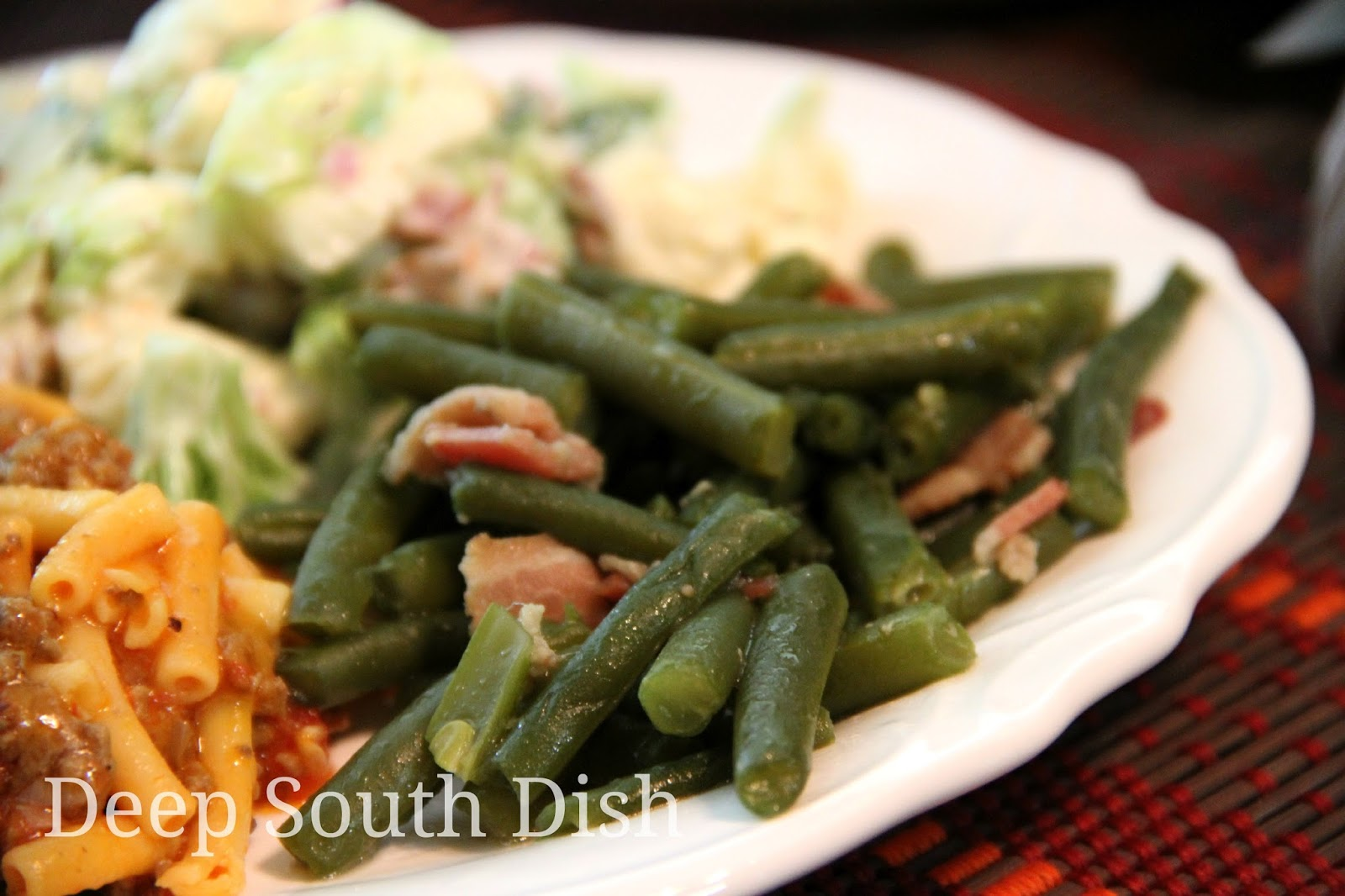 Old fashioned pole beans recipe 8