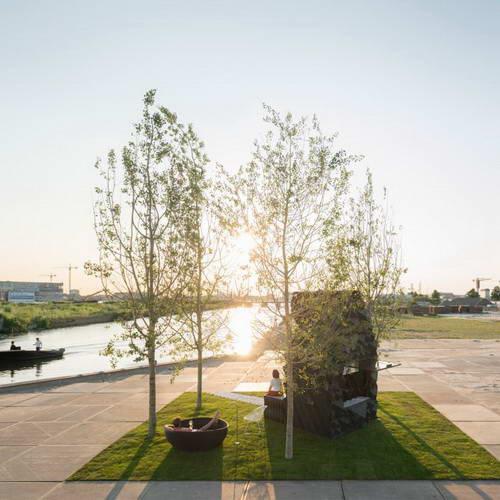 DUS Architects Bangun Rumah 3D Print Cabin Urban Bio-Produk di Amsterdam
