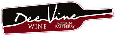 Dee Vine Wine Rockin' Raspberry Wine Label | Banners.com