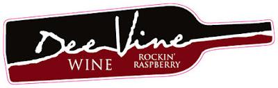 Dee Vine Wine Rockin' Raspberry Wine Label | Banners.com