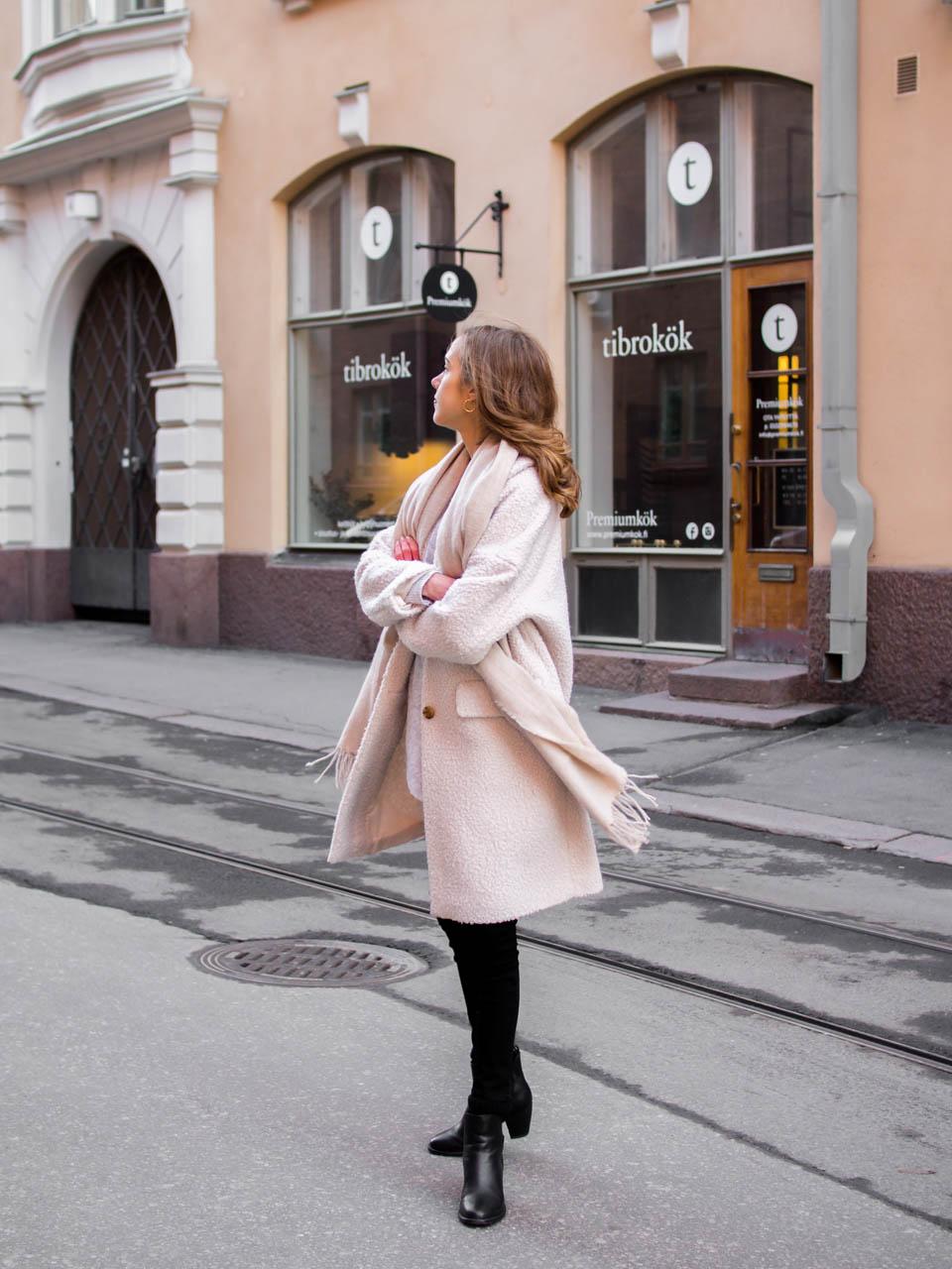 Scandinavian fashion blogger winter outfit inspiration - Talvimuoti, inspiraatio, muoti, tyyli, bloggaaja, Helsinki