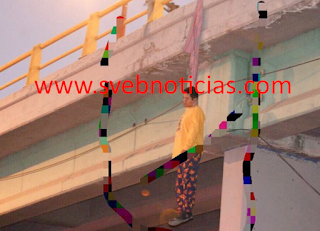 Amanece hombre colgado de un puente en León Guanajuato