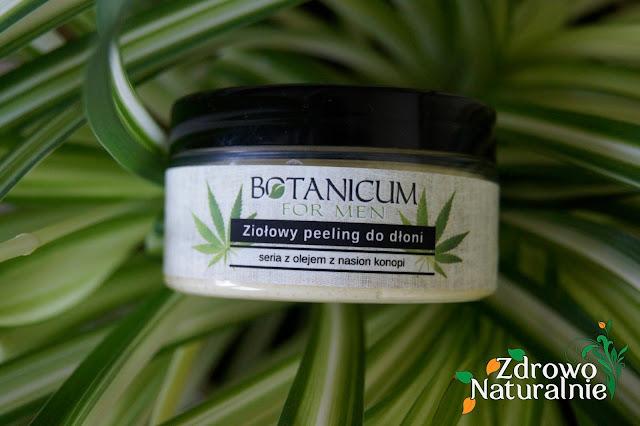 Botanicum Natural Spa - Peeling do dłoni seria męska z olejem z nasion konopi