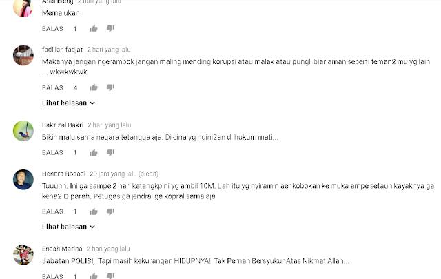 Oknum Polisi Jadi Dalang Perampokan Uang 10 Miliar, Begini Komentar Netizen