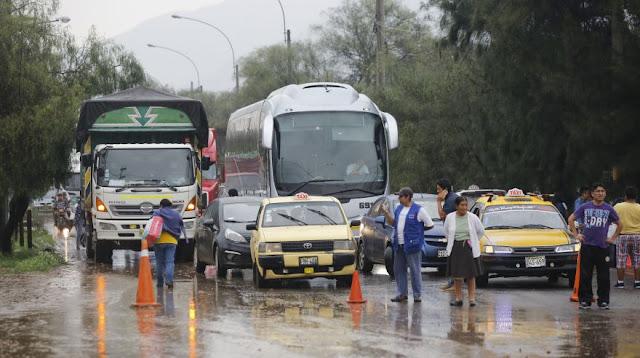 CHACLACAYO, CHOSICA Y SANTA EULALIA AFECTADAS POR HUAICO