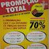 PROMOÇÃO TOTAL NO PARAÍBA, PRODUTOS COM ATÉ 70% DE DESCONTOS NOS DIAS 30 E 31 DE MARÇO