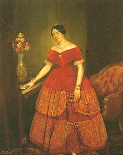 """""""Retrato de Manuelita Rosas"""", Pueyrredón"""
