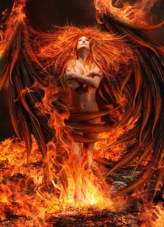 Angel Of Fire by Greenfeed  Deviant Art
