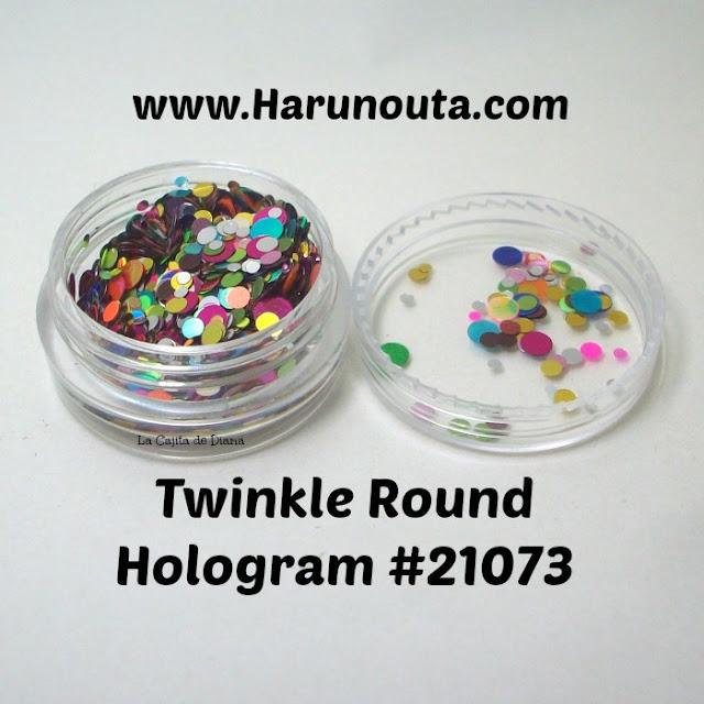 nailart-round-glitter