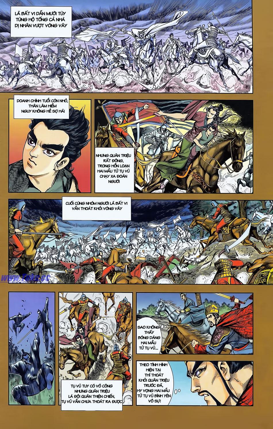 Tần Vương Doanh Chính chapter 2 trang 4