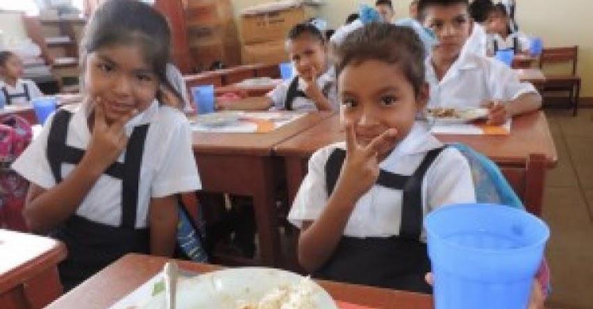 QALI WARMA: En Ucayali más de 120 mil niñas y niños disfrutan de alimentos de calidad que brinda el Programa social - www.qaliwarma.gob.pe