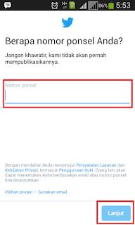 aplikasi twitter android
