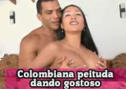 Colombiana fudendo muito no porno amador