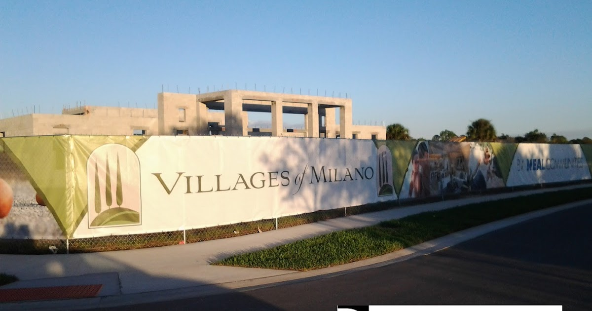 Florida New Homes Villages Of Milano Is Now Open