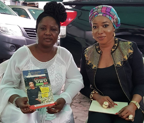 liz anjorin visit tinubu daughter endorsement