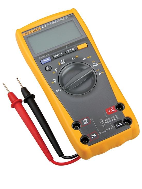 FLUKE 179 FLUKE, Digital Multimeter, Fluke 170 Series ... |Fluke Multimeter 179