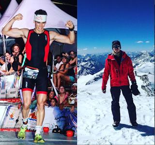Daniel Graff: Ironman en la cima