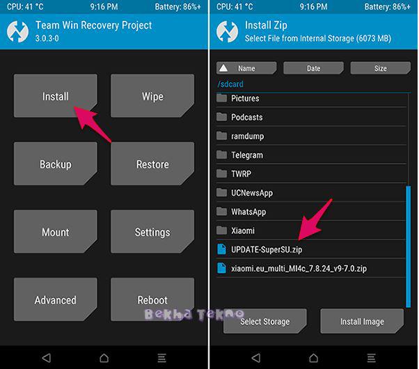 Cara Mudah Root Xiaomi 4X Santoni Tanpa PC Dijamin Berhasil 100% Terbaru