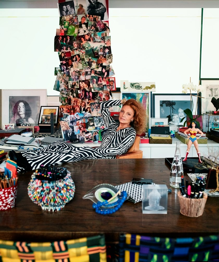 Diane von Furstenberg Named as one of TIME's 100 Influential People