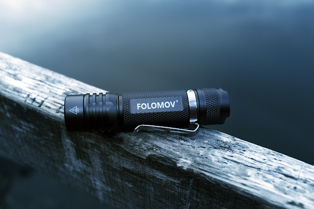 Flashlight Folomov 18650s