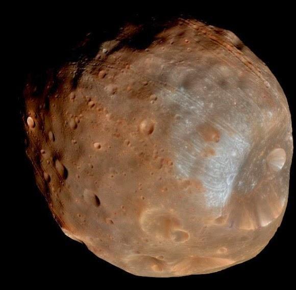 lua phobos de marte