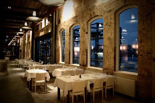 Restaurante de diseo en Amsterdam de Cube Architecten