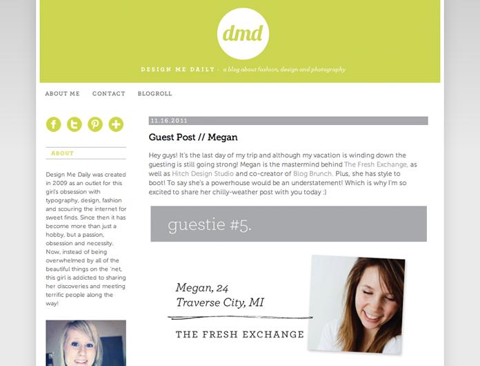 sarah gabler, guest posting, design me daily, Megan Gilger, chilly weather wear, san francisco