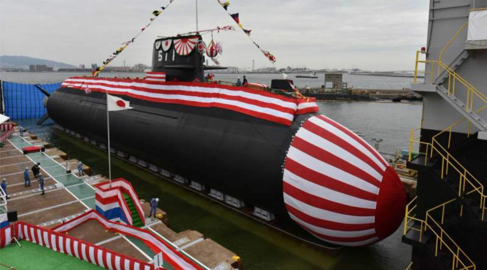 Angkatan Laut Jepang menerima kelas kapal selam Soryu kesepuluh